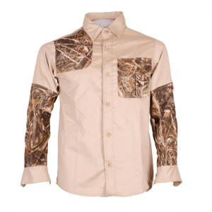 Men's Classic DOUBLE IMPACT Long Sleeve Hunting Shirt Front