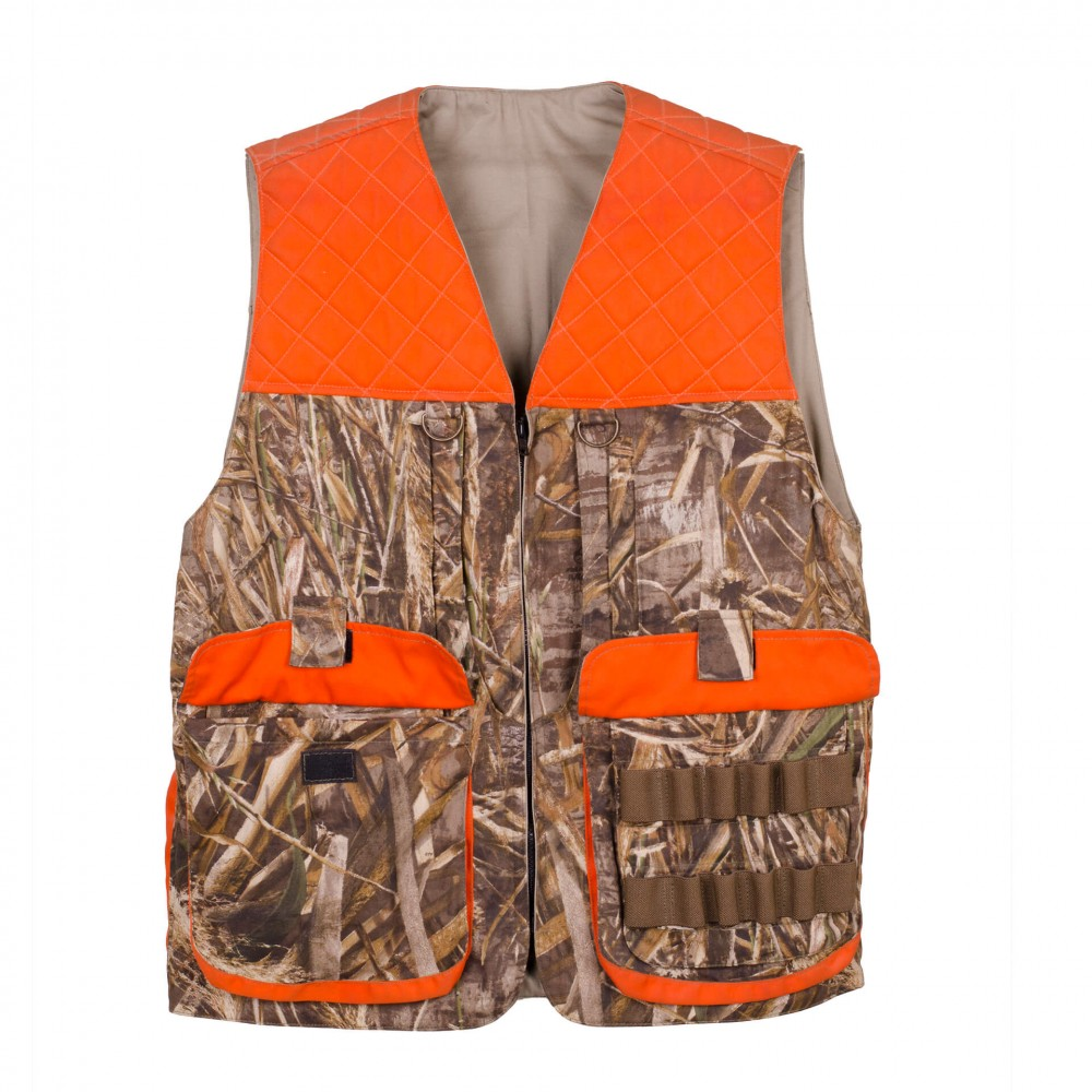 Men's Upland Field Hunting Vest Major I Front Open Pockets