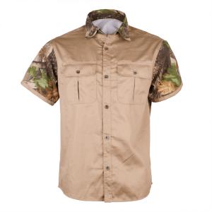 "Men's Classic ""TITAN-PRO"" Short Sleeve Hunting Shirt Front"