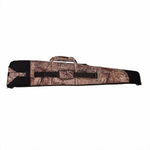 S.U.H Rifle Case TOPGUN in MOSSYOAK DUCKBLIND Fabric front
