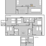 Chalet George floor-plan