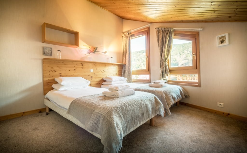 Chalet Grand Sapin Bedroom Chataigne