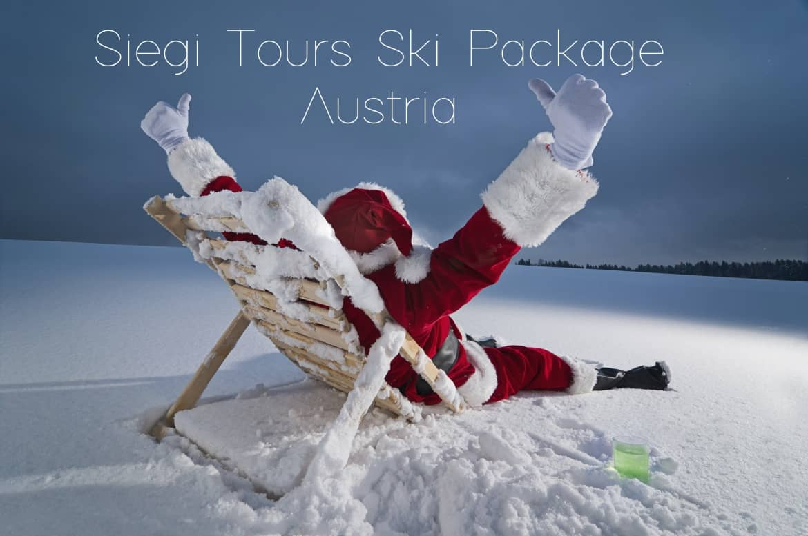 christmas ski package austria siegi tours