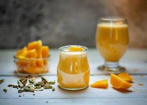 blended mango juice