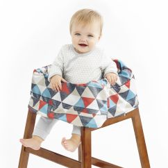 Padded High Chair Maroon Accent Take Cover Shopping Cart Baby Skiphop Com