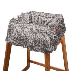 Carters High Chair Cover Directors Camping Take Shopping Cart And Baby Skiphop