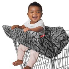 Zebra High Chair Teal Blue Skip Hop Shopping Cart And Baby Cover Take Zig Zag 400207