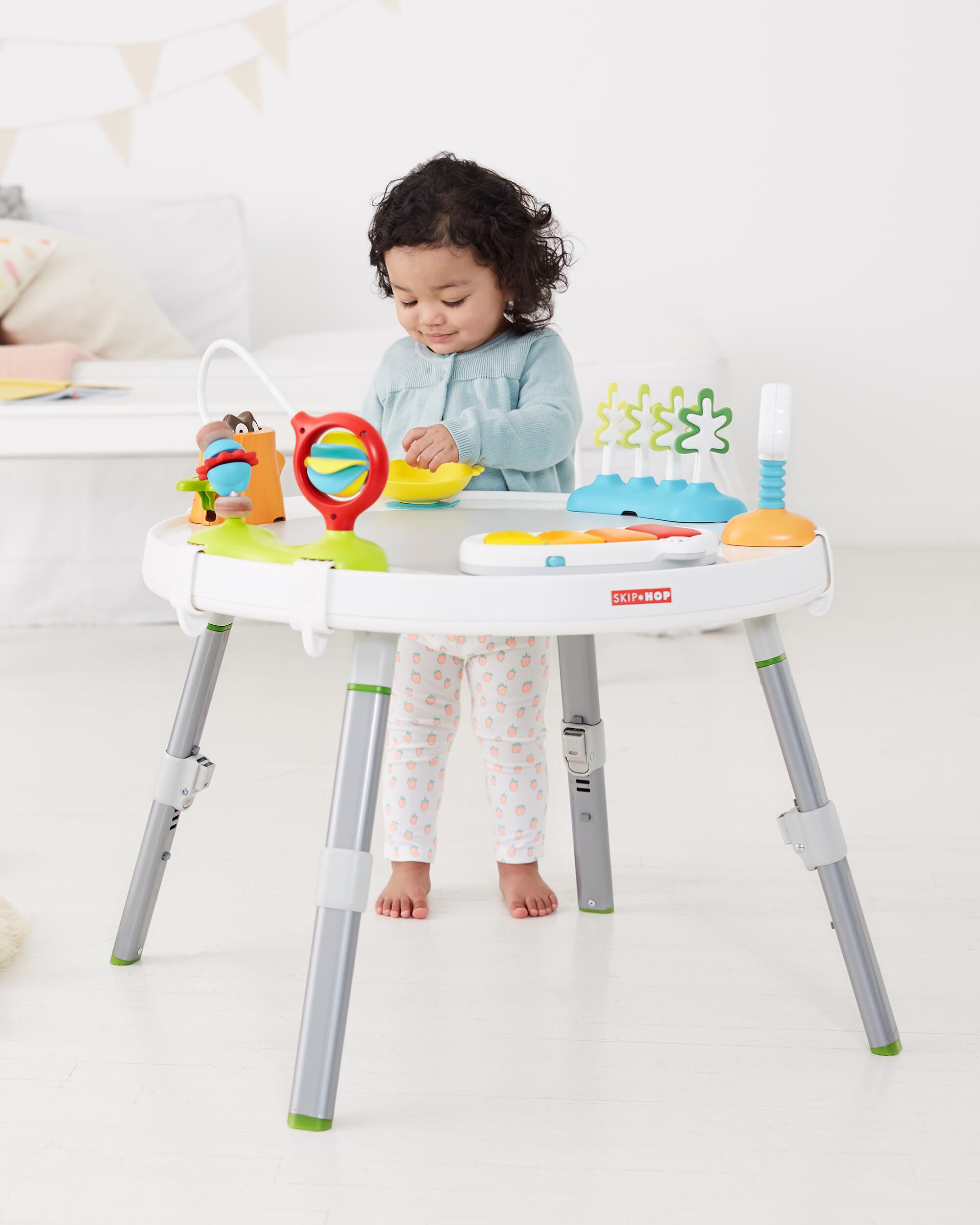 revolving chair for baby folding chairs in spanish explore and more 39s view 3 stage activity center