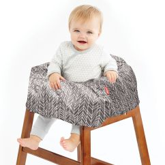 Carters High Chair Cover Oak Table And Chairs Take Shopping Cart Baby Skiphop