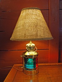 Brass Port & Starboard Bow Light Table Lamp (new ...