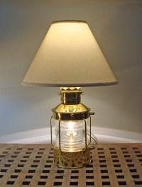 Skipjack's Anchor Lantern Table Lamp (new)