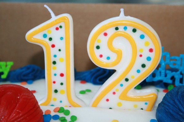 It's our 12th Birthday