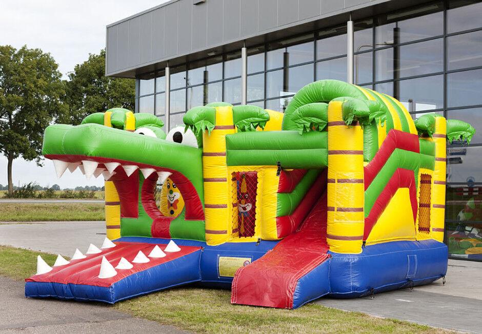 Springkussen multiplay Krokodil