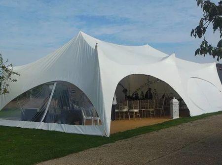 Trapeze tent