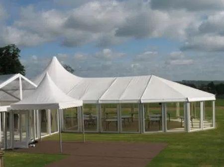 Alu-frame tent rond 10 meter