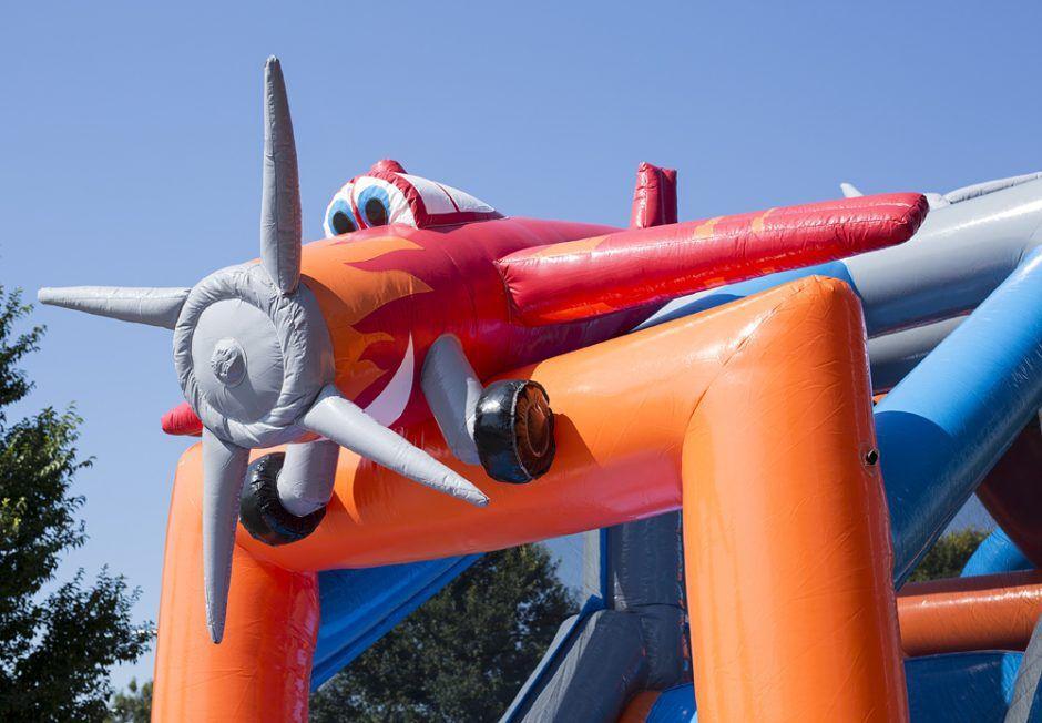 Vliegtuig Run 17 meter