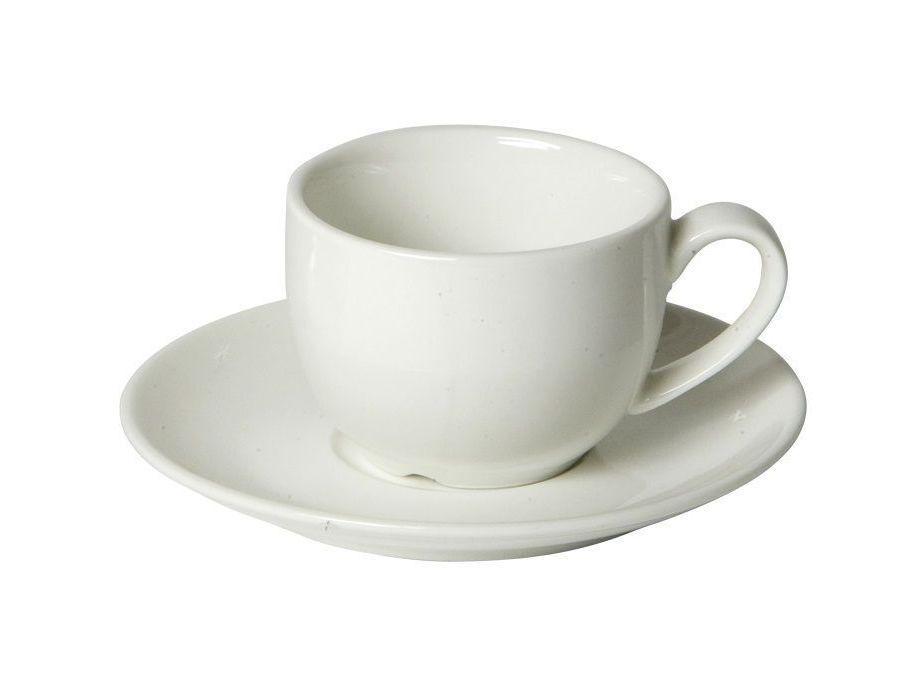 Koffiekop, schotel en lepel Trendy