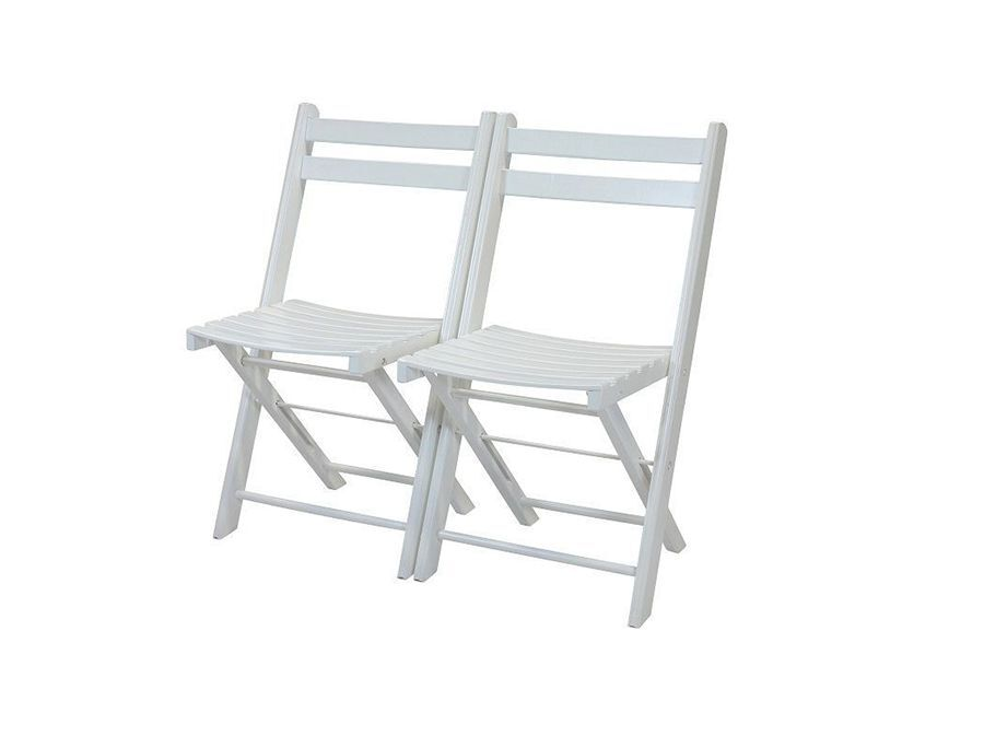 Wedding chair wit hout (aanbieding)
