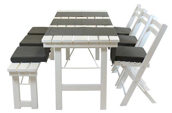 Wedding chair wit hout (aanbieding)