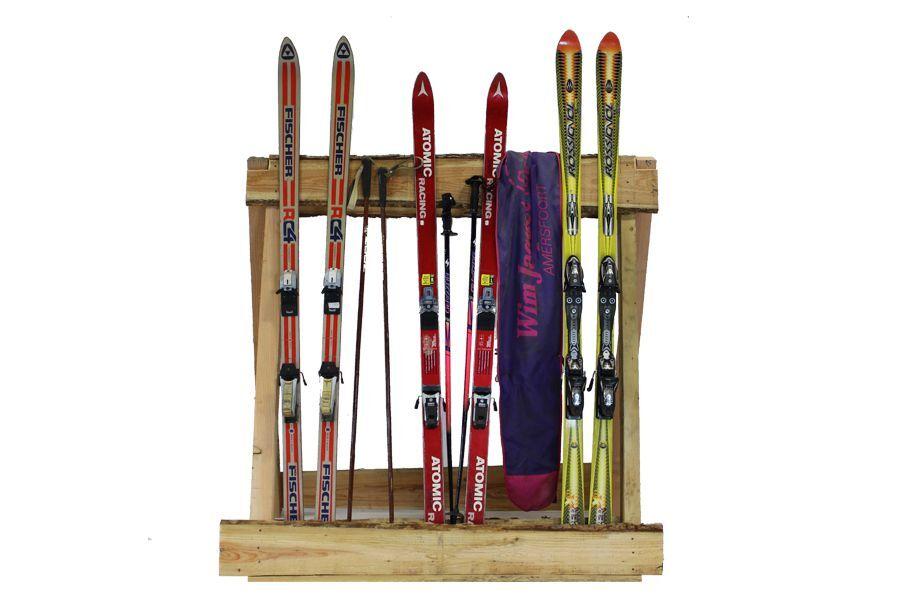 Skirek met ski's – decoratie