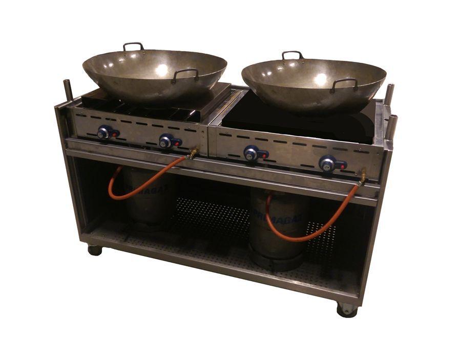 Dubbele wok (60x140cm)