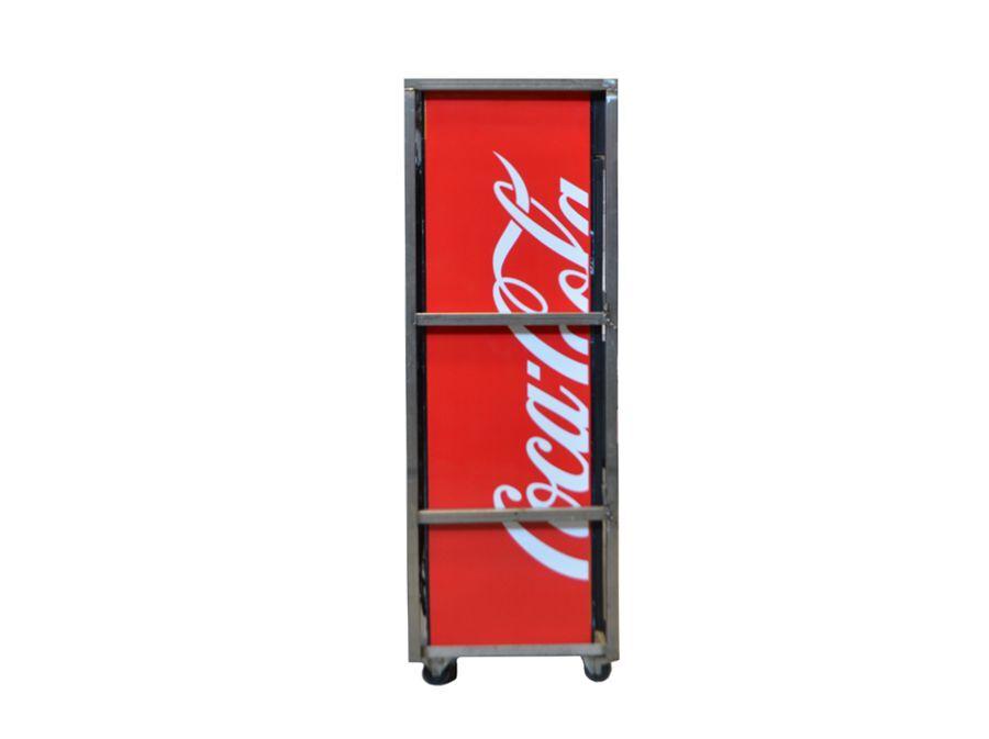 Flessenkoelkast glazendeur 365L COCA COLA