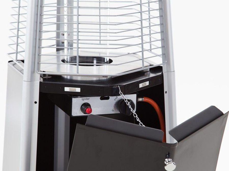 Flame heater Sunred 10 kW