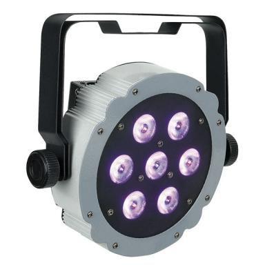 Lichtbalk incl. 6 par spots LED (RGB)
