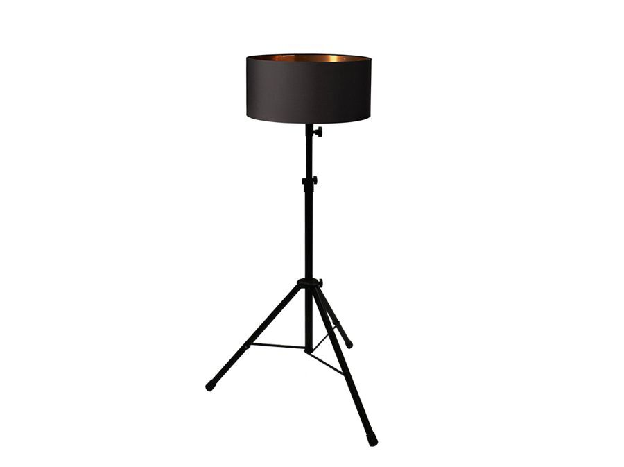 Vloerlamp – Zwart/Koper – set van 5 stuks