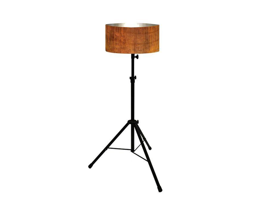 Vloerlamp – Cortenstaal – set van 5 stuks