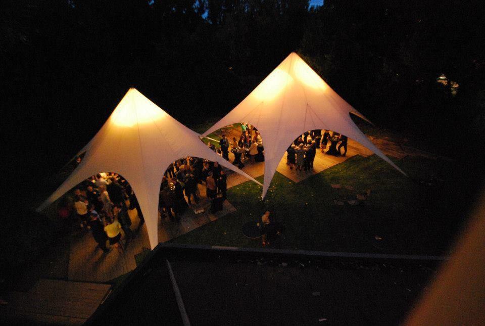 Verlichting Starshade tent