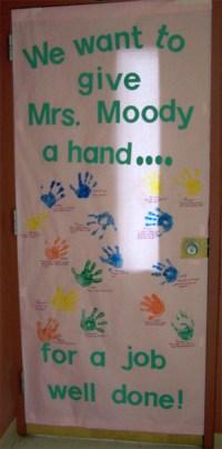 Teacher Appreciation Door Decorations   Skip To My Lou