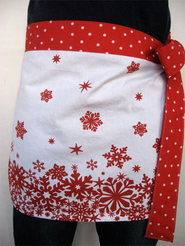 tea towel apron 10