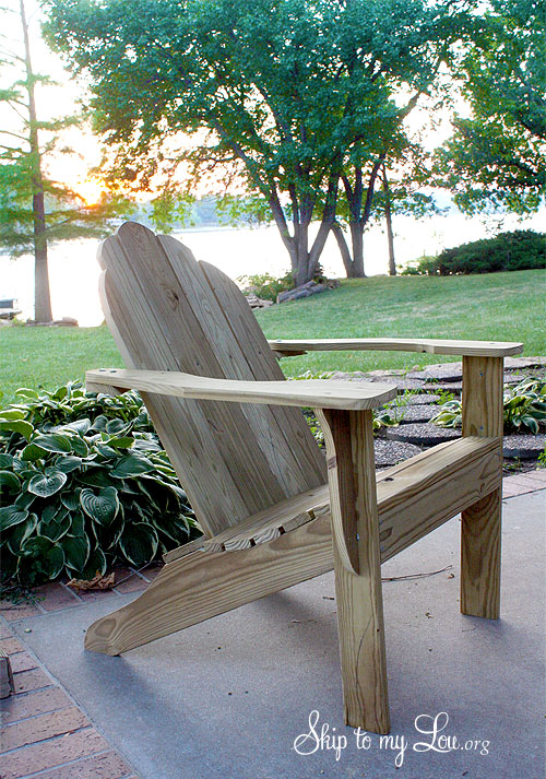 skull adirondack chair plans metal chairs ikea free download skip to my lou how build