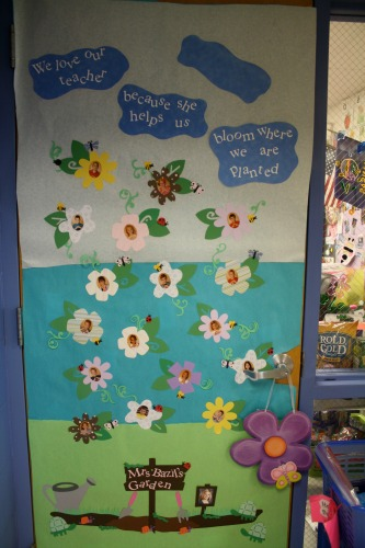 Bloom Teacher Door Idea Jpg & door decoration ideas for teachers | Decoration For Home