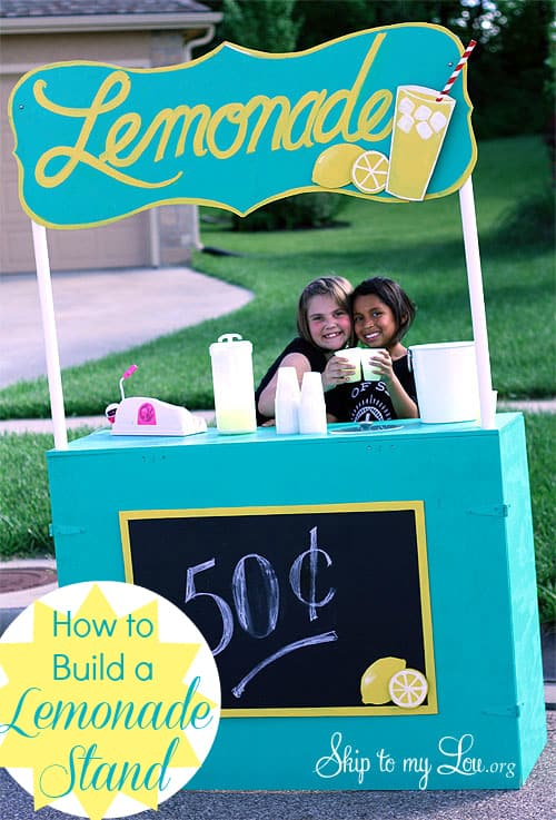 Build your own lemonade stand