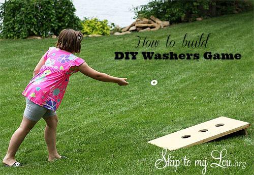 DIY Washers Game