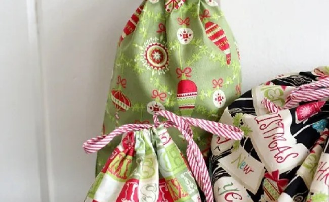 Reusable Fabric Gift Bags From The Cottage Mama Skip To