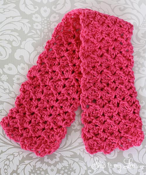 crochet ear warmer step 2