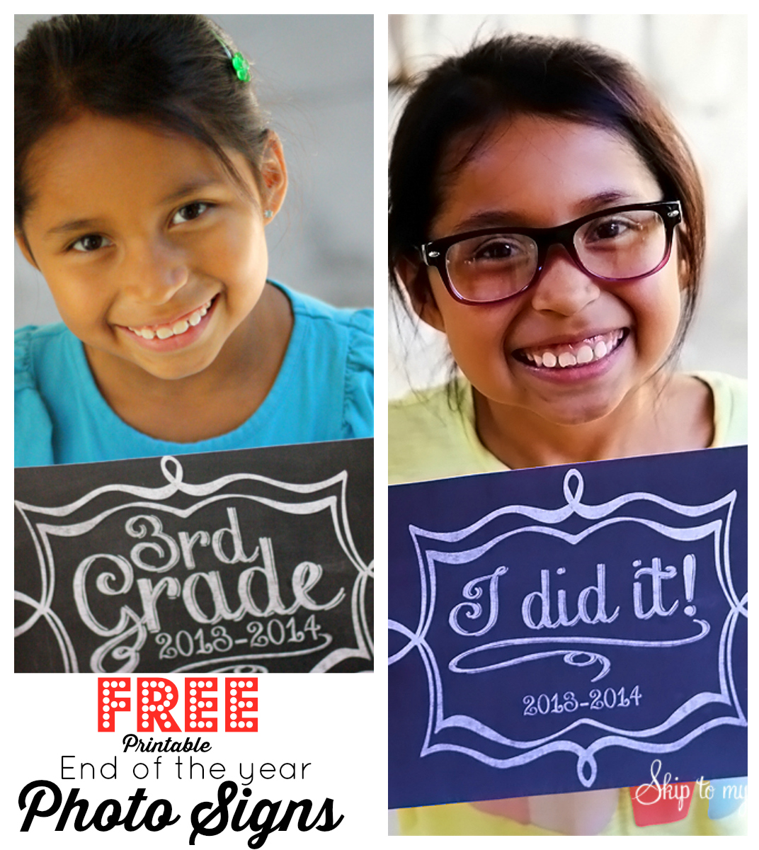 End Of School Year Printable Sign