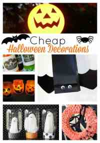 10 Cheap Halloween Decorations | Skip To My Lou