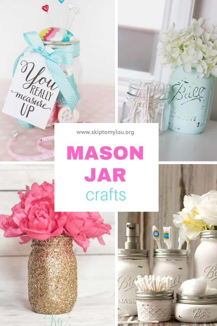 mason jar crafts skip