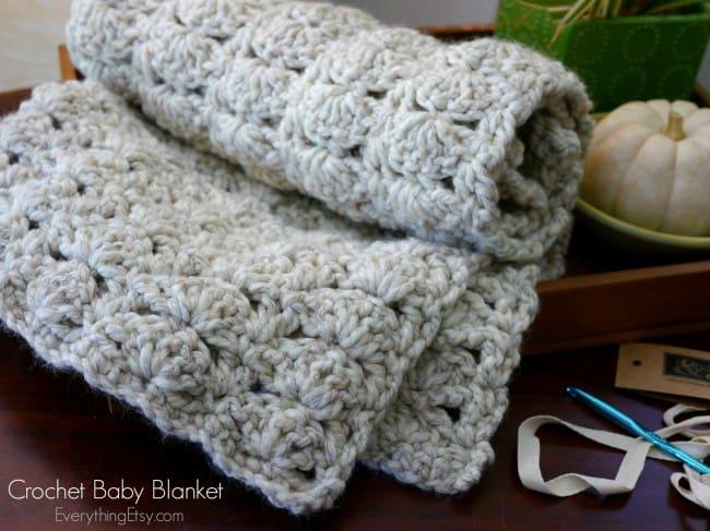 Chunky Crochet Baby Blanket UPDATED  Skip To My Lou