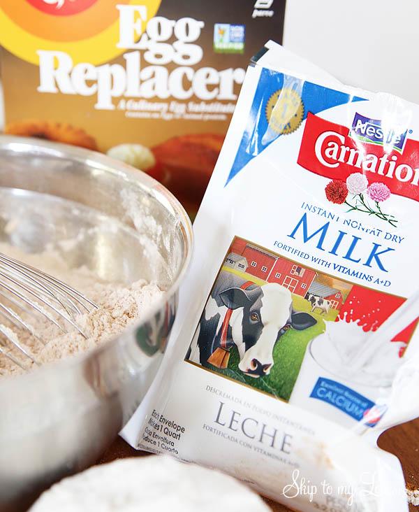 pancake mix in a jar supplies