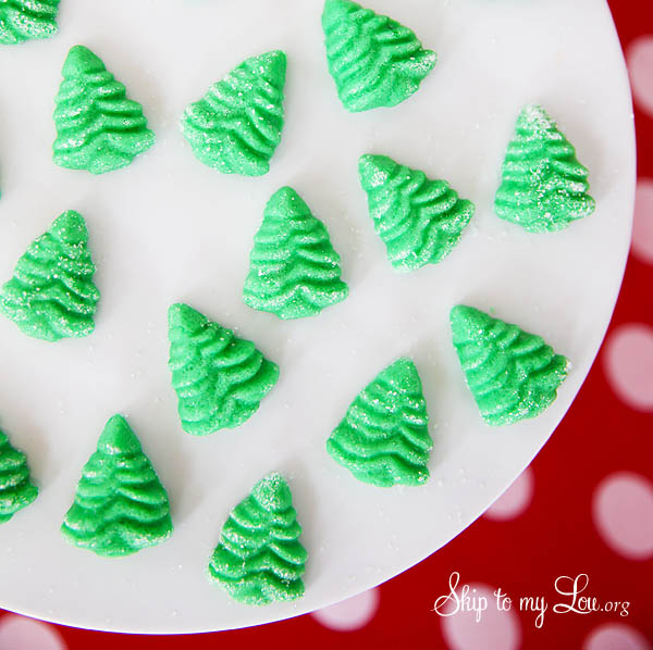 Cream Cheese Christmas Mints Recipe