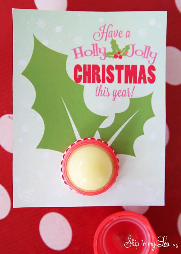 DIY Lip Balm Christmas Gift Idea Skip To My Lou