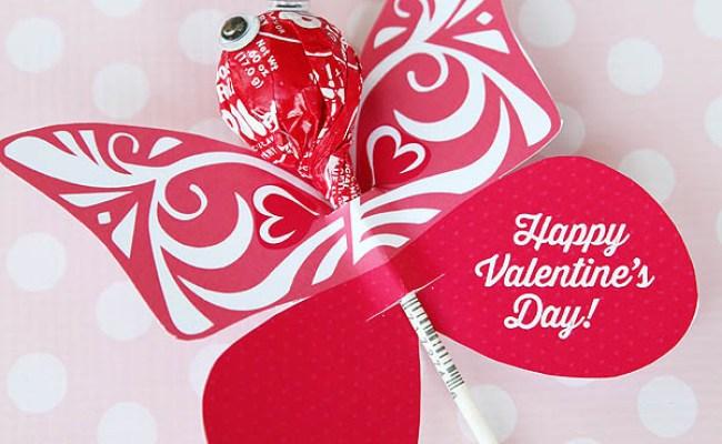 Butterfly Printable Valentine Skip To My Lou