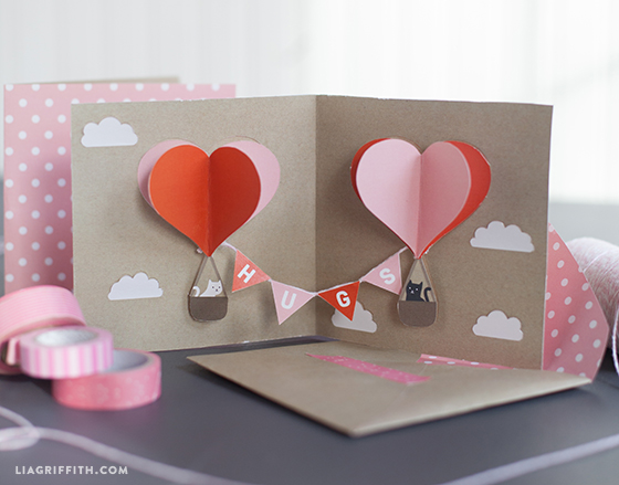 DIY Pop Up Valentine's Card Skip To My Lou