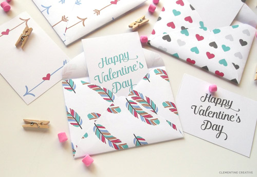 Printable Valentine Mini Envelopes And Cards Skip To My Lou