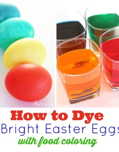 Dying easter eggs also ultimate how to for with food coloring skip rh skiptomylou